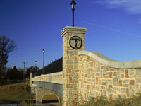 Fredericksburg Virginia  Architectural and Decorative Concrete for Transportation Projects